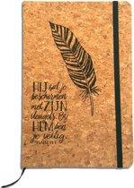 Christelijk Notitieboekje - Psalm 91:4 - Hij Zal Je Beschermen - DagelijkseBroodkruimels