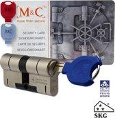 M & C Deurcilinder Anti kern & cilindertrek Cilinder 32/47 mm skg***