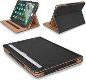 Apple iPad Pro 12.9 (2017 / 2015) Hoes Zwart Book Case Leer Luxe Hoesje - Smart Cover Case van iCall