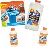 Elmers Glue XXL Pakket voor perfect slijm. Wil jij graag slijm maken? Slijm maken lukt altijd met Elmer's lijm!