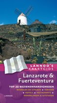 Lannoo's kaartgids - Lanzarote en Fuerteventura
