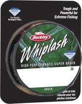 Berkley Whiplash Green - Gevlochten Lijn - 0.12 mm - 16.7 kg - 300m