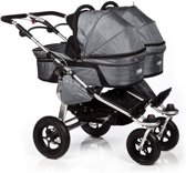 Twinner Twist Duo Grey tweelingwagen Twinner Twist Duo grey