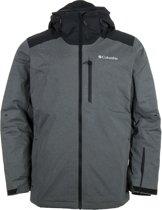 Columbia Lost Peak Wintersportjas - Maat XL  - Mannen - grijs/zwart
