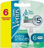 Gillette Venus Sensitive Extra Glad Scheermesjes - 6 stuks