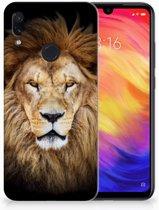 Xiaomi Redmi Note 7 TPU Hoesje Design Leeuw
