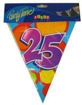 Vlaggenlijn leeftijd 25 jaar
