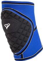 Rucanor Protecto Kniebeschermers - Sportbandages  - blauw kobalt - S