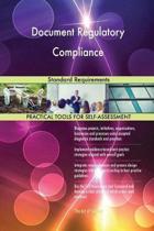 Document Regulatory Compliance Standard Requirements