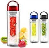 Fruitwater Fles Fruit Infuser - Blauw