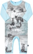 Me Too Jongens Boxpak Organic Cotton Lichtblauw met dieren - Maat 68