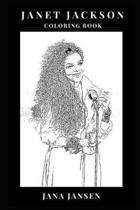 Janet Jackson Coloring Book