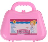Free And Easy Doktersset 4-delig Roze