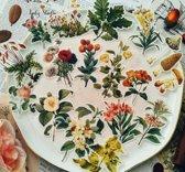 45 Vintage Flora Vellum Stickers - Meer Leuks