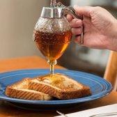Transparante acrylaat honing SAP Dispenser  formaat: 8.3 * 10 0 * 15 cm