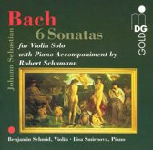 Bach: 6 Sonatas with Accompaniment by Robert Schumann