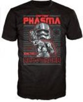 Merchandising STAR WARS - T-Shirt POP - Captain Phasma (L)