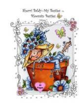 Sherri Baldy My-Besties Bloomin Besties Coloring Book