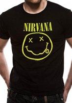 Nirvana Smiley TShirt XL