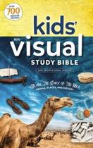 NIV, Kids' Visual Study Bible, Leathersoft, Teal, Full Color Interior