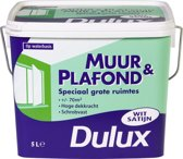 Dulux Muur- & Plafondverf - Wit - Satin - 5 liter