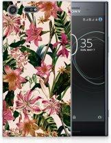Sony Xperia XZ Premium Uniek TPU Hoesje Flowers