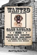 Mastiff Dog Wanted Poster