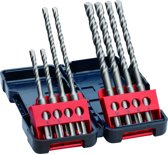 Bosch Professional SDS plus-3; 8 st Tough Box Set
