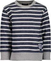 Blue Seven Jongens sweater - donkerblauw - Maat 128