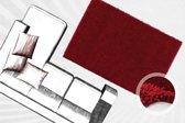 Lalee Zacht hoogpolig vloerkleed 160 x 230 Rood