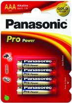 Panasonic AAA Pro Power Batterijen - 4 stuks