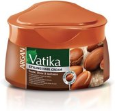 Vatika Argan Exotic Shine and Softness Styling Cream 140 gr