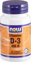 Now Foods Vitamine D3 - 180 capsules