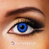 Partylenzen - Blue Lestat - jaarlenzen incl. lenzendoosje - kleurlenzen Partylens®