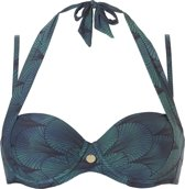 Ten Cate Multiway Bikinitop TC WOW Groen - Cupmaat 36C