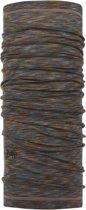 Buff Lightweight Merino Wool Unisex Nekwarmer - Fossil - One Size