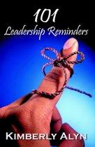 101 Leadership Reminders