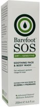 Barefoot sos face&bodywash 200 ml