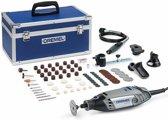 Dremel 3000 Multitool Roterend 130 Watt Inclusief 75 accessoires 5 hulpstukken en luxe aluminium opbergkoffer