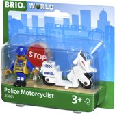 BRIO Politie motoragent - 33861
