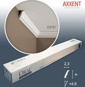 1 doos 10 Kroonlijsten Origineel Orac Decor CX151 AXXENT Plafondlijsten Sierlijsten 20 m