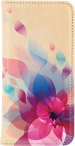 Mobilize Premium Magnet Book Case Apple iPhone 5/5S Fire Flower