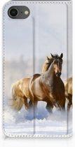 Book case iPhone 7 | 8 Paarden