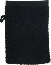 The One Washandjes 15x21cm Zwart 10 stuks