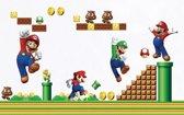 Mario Wereld Muur Stickers