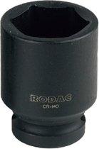 RODAC 1/2 krachtdop (kort) 12 mm