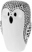 Riverdale Spaarpot Owl wit 16cm