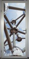 Deurposter 'Atomium' - deursticker 75x195 cm