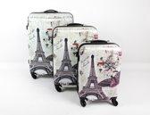 Zifel Kofferset 3 Delig Eiffel Toren