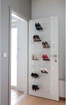 Casibel  - Schoenenrek - Wit - voor stompe deuren